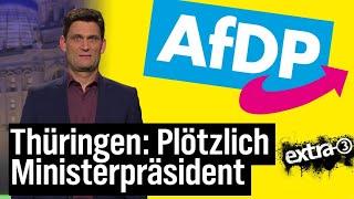 Thüringen: Plötzlich Ministerpräsident