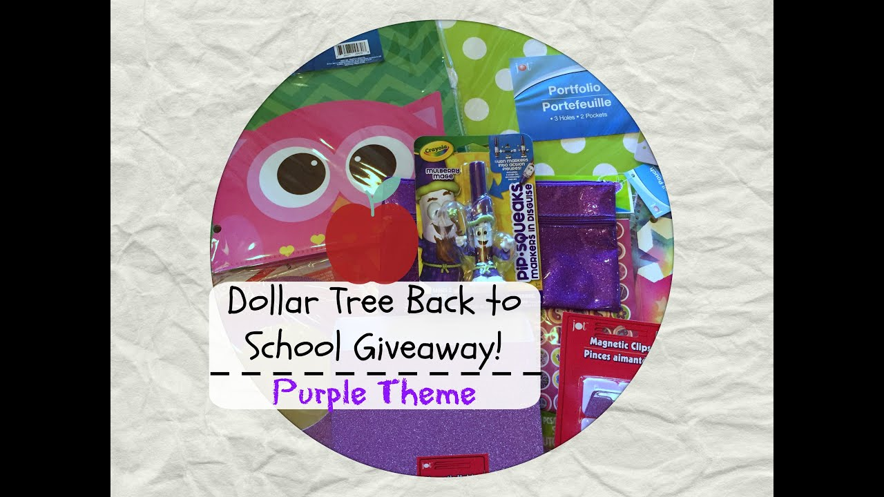 Wand Tv Closings Dollar Tree Back To School Giveaway Purple Theme Closed