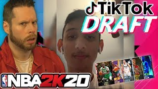 NBA 2K20 Tik Tok Draft