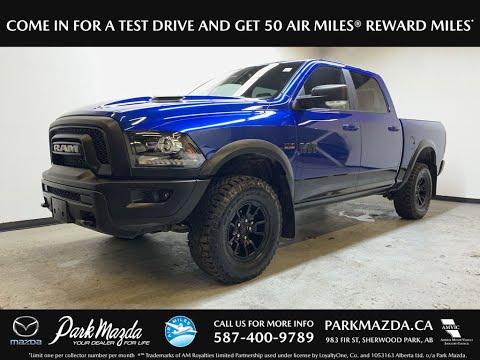 BLUE 2017 Ram 1500  Review   - Park Mazda