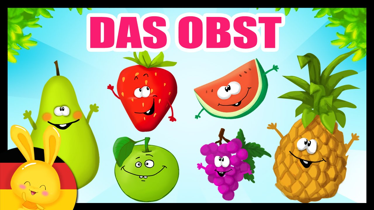 das obst auf deutsch lernen german vocabulary fruits vegetables titounis youtube. Black Bedroom Furniture Sets. Home Design Ideas