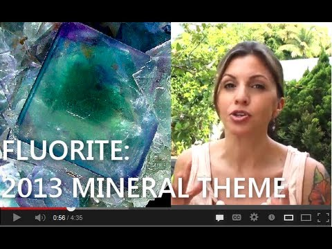Fluorite - 2013 Tucson Mineral Theme of the Year!