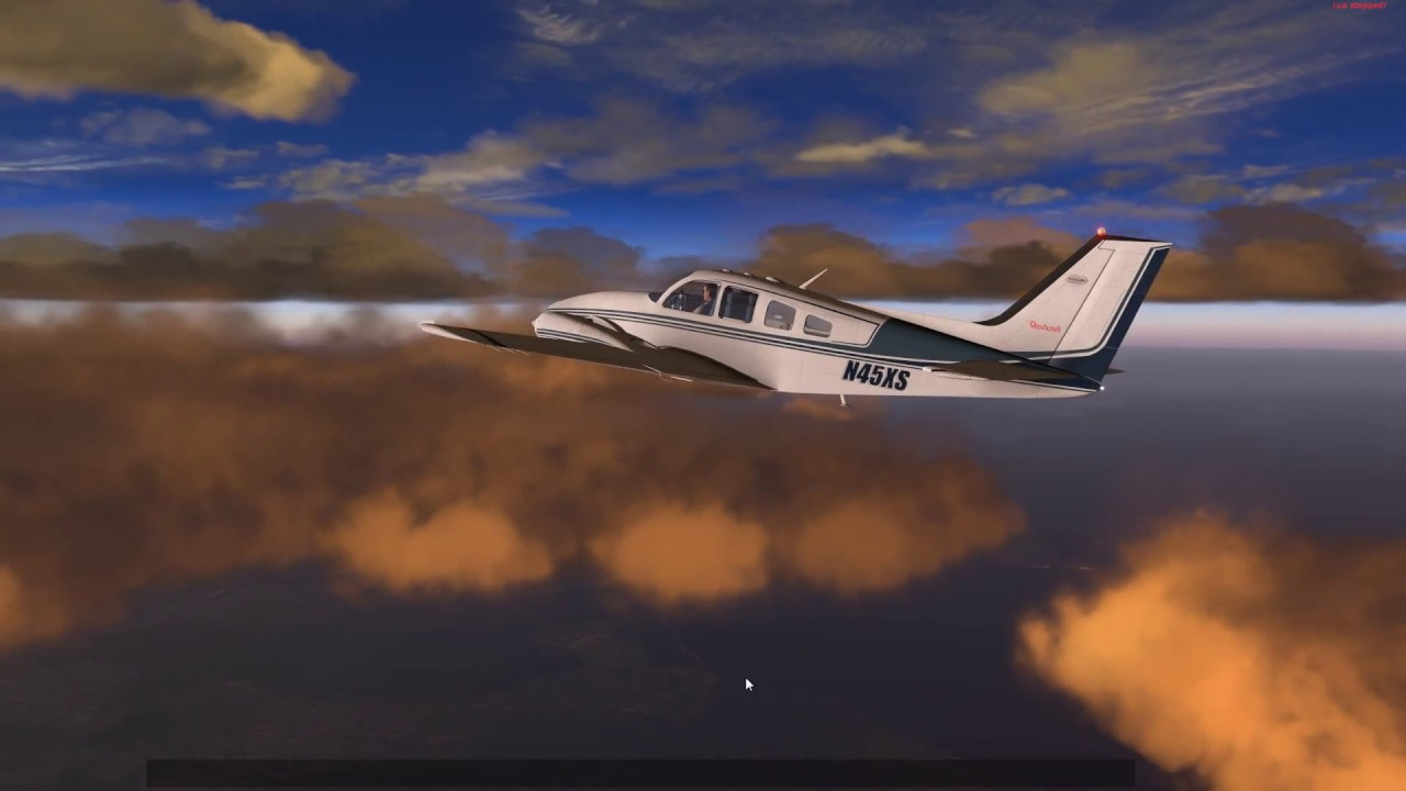 X Plane 11:A bit of Flyin':Lovely Clouds! - YouTube