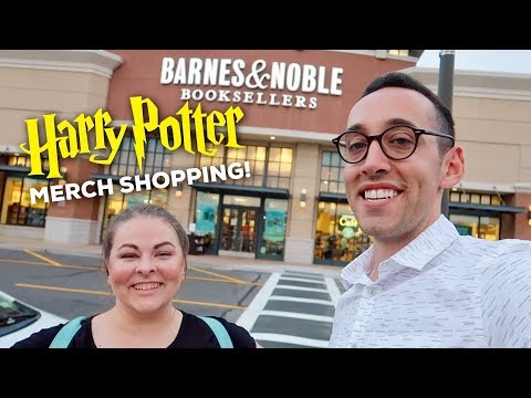 SHOPPING FOR HARRY POTTER MERCHANDISE AT BARNES & NOBLE | Featuring AllThePrettyBooks