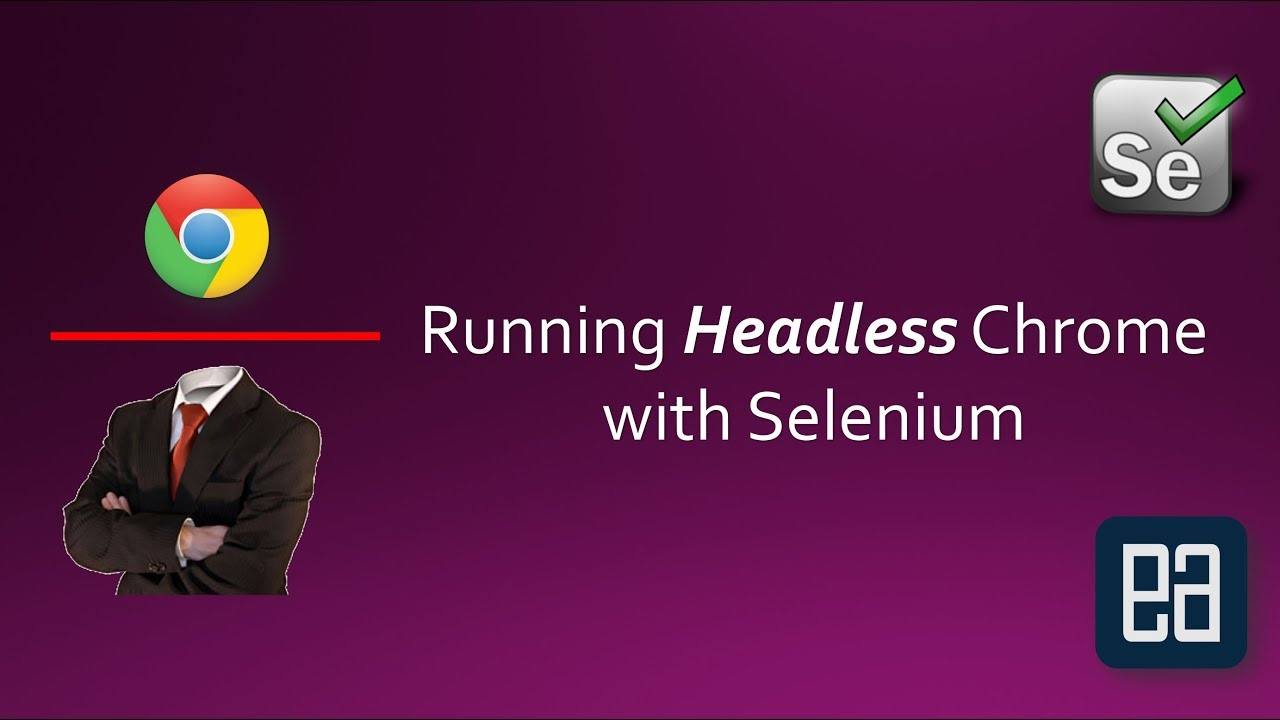 Part 13 - Running Chrome in Headless mode with Selenium C#
