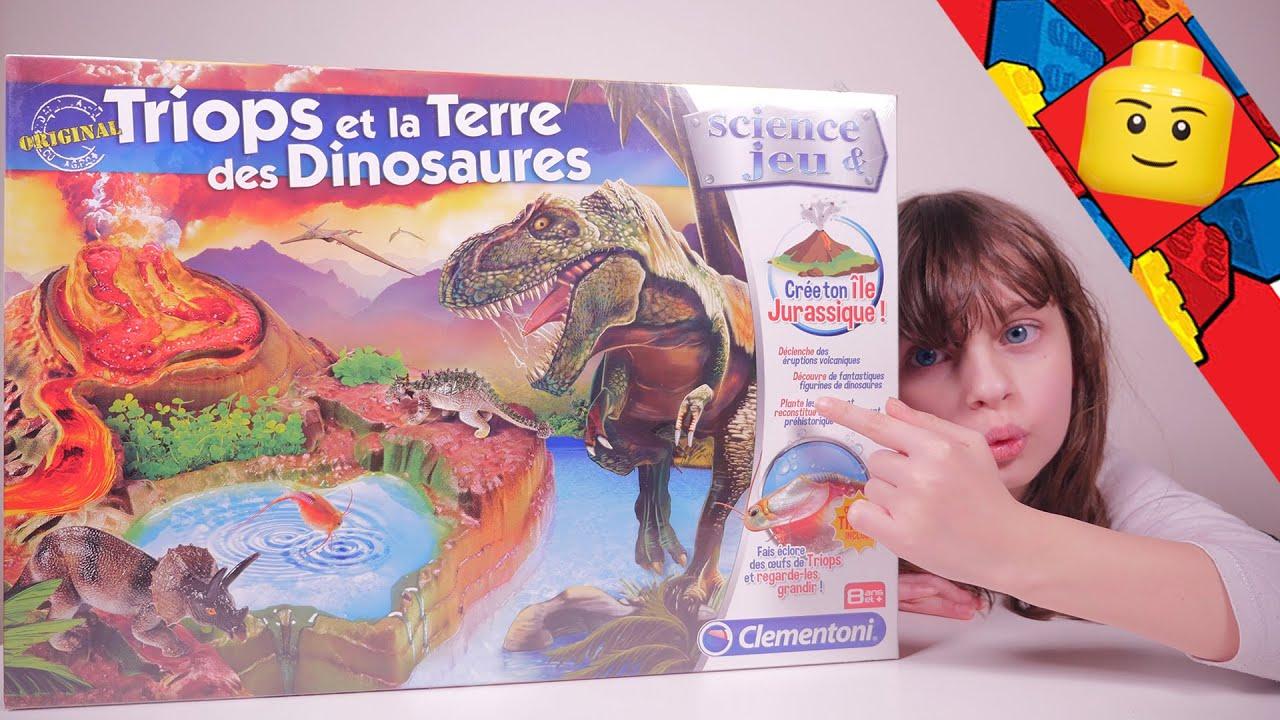 jouet triops et la terre des dinosaures partie 1. Black Bedroom Furniture Sets. Home Design Ideas