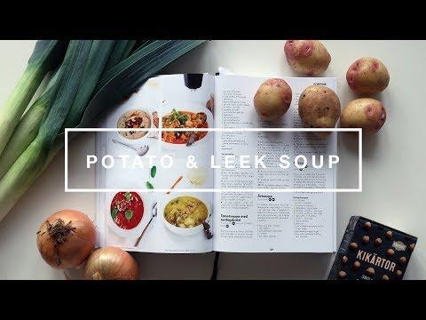 Kat's Kitchen: Potato & Leek Soup [VEGAN]