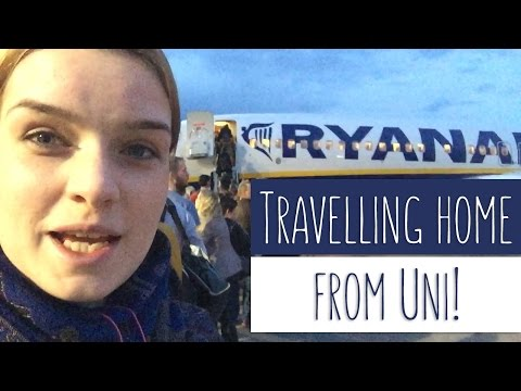 TRAVELING HOME FROM UNIVERSITY | From Treforest to Hungary