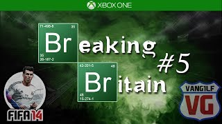 FIFA 14 Breaking Britain #5 - Road To Glory - HUGE 9 goal THRILLER + AMAZING goals