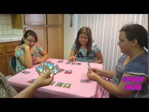 Candy Grab the Card Game