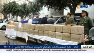 وهران : الدرك الوطني يحجز 1050 كلغ من الكيف المعالج