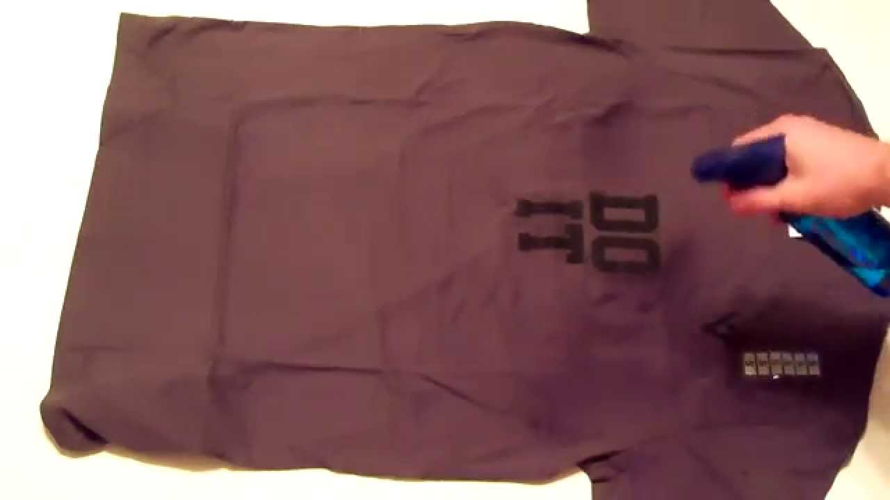 Sweat activated shirt demo men 39 s do it youtube for How to not sweat through shirts