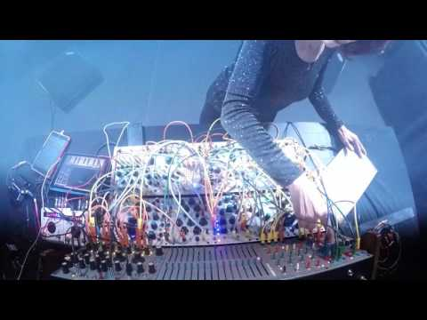 Suzanne Ciani Live Performance at P2 Art's Birthday Party in Stockholm, Sweden