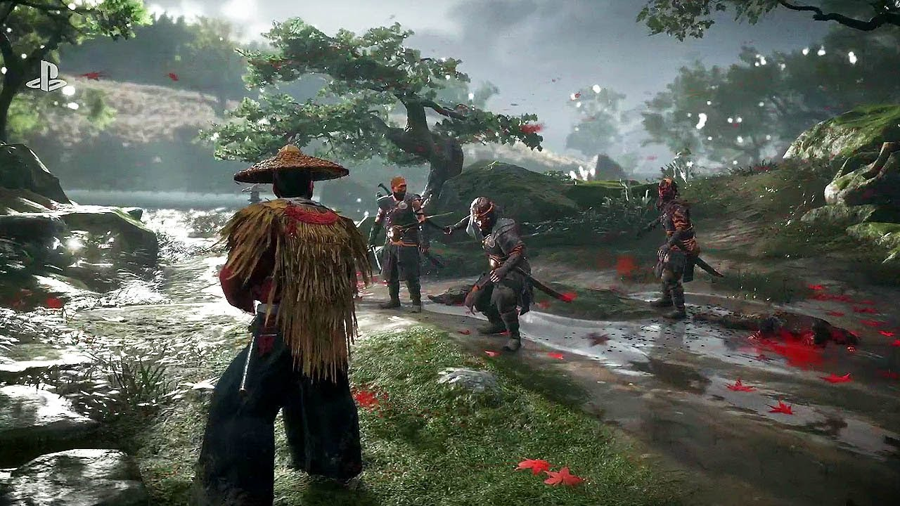 Ghost of Tsushima (PS4) - E3 2018 Gameplay Demo @ 1080p HD ...