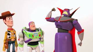 Toy Story 3 The Video Game - PS3 - Zurg playable / PlayStation Move official gameplay trailer HD