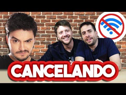 CANCELANDO A INTERNET DE FELIPE NETO - Maurício Meirelles e Daniel Zukerman
