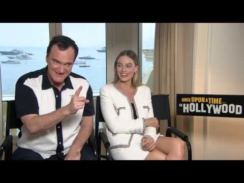 Once Upon A Time In Hollywood: Margot Robbie & Quentin Tarantino Official Movie Interview