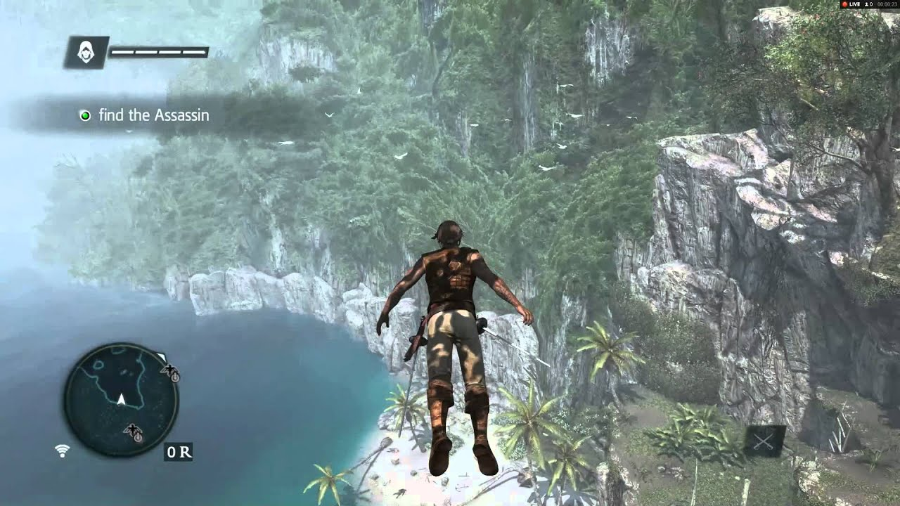 Assassin S Creed Iv Black Flag Leap Of Faith Youtube
