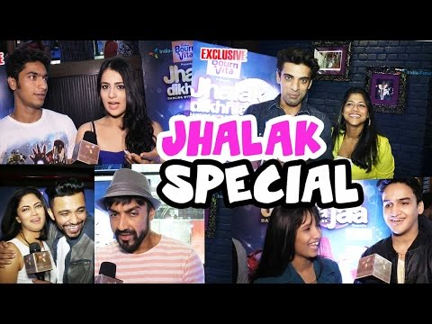 Jhalak contestants recall about their first dance moves