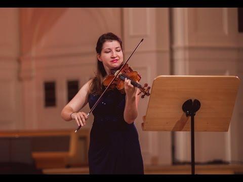 Hanna Asieieva (Ukraine) - Stage 1 - International H. Wieniawski Violin Competition BINAURAL