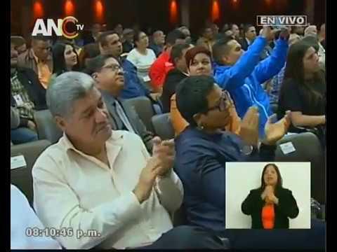 Juan Escalona, discurso ante la ANC por la Constituyente de la Identidad Cultural