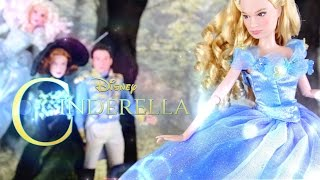 Doll Review: DISNEY CINDERELLA| The Prince, Lady Tremaine, Fairy Godmother
