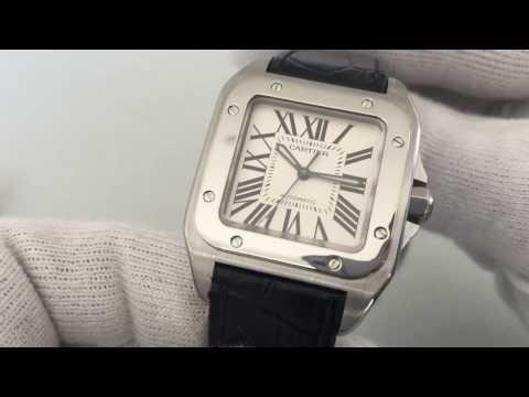 Cartier Santos 100 | Automatic Watch | Ref. 2878 | Steel | S