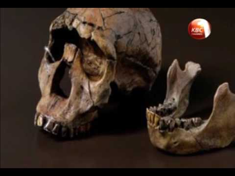 Magical scenes on origin of mankind in Turkana