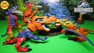 New Jurassic World Hero Mashers Ankylosaurus Action Figure Dinosaur Toy Unboxing, Review