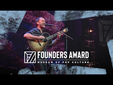 2019 Founders Award   Dave Matthews - 'Turpentine'   MoPOP   Museum Of Pop Culture