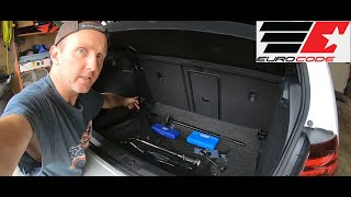 homepage tile video photo for 2018 VW GTI SE Ep.380: Detailed Installation of Eurocode Rear Tie Bar