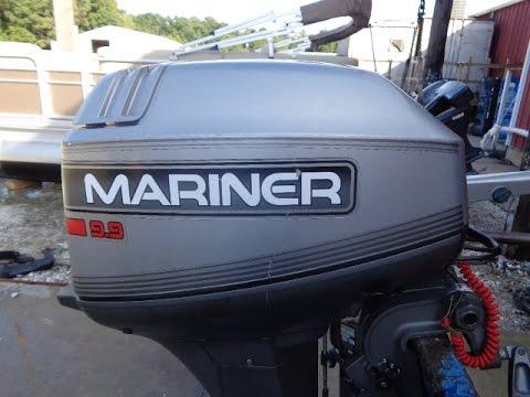 0h005467 Used 1996 Mariner 9 9ma 9 9hp 4 Stroke Tiller