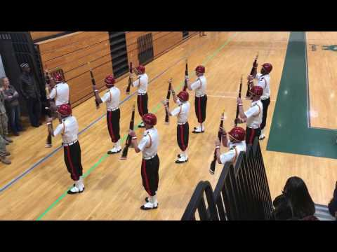 Maroon Guard Armed Exhibition Drill @ Colts Neck