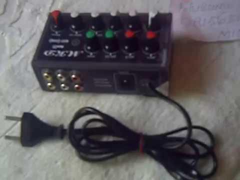 Mini Mixer Karaoke