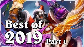 Funny And Lucky Moments - Hearthstone - Best Of 2019 (Part 1)