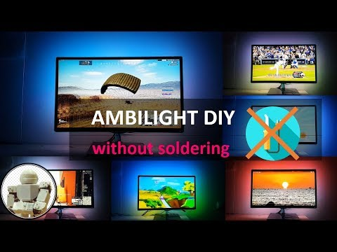 Ambilight LED DIY | WS2812b(Neopixel) | Arduino Uno Project (without Soldering | How To Make )