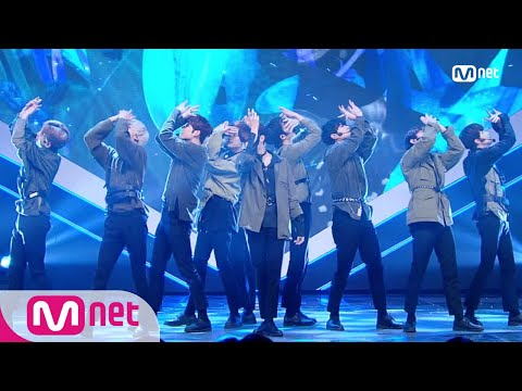 [UP10TION - Blue Rose] KPOP TV Show | M COUNTDOWN 190103 EP.600