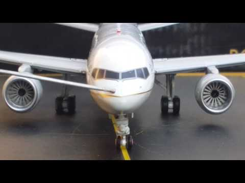 Gemini 200 United B757-200W(Post Merger Livery)Review