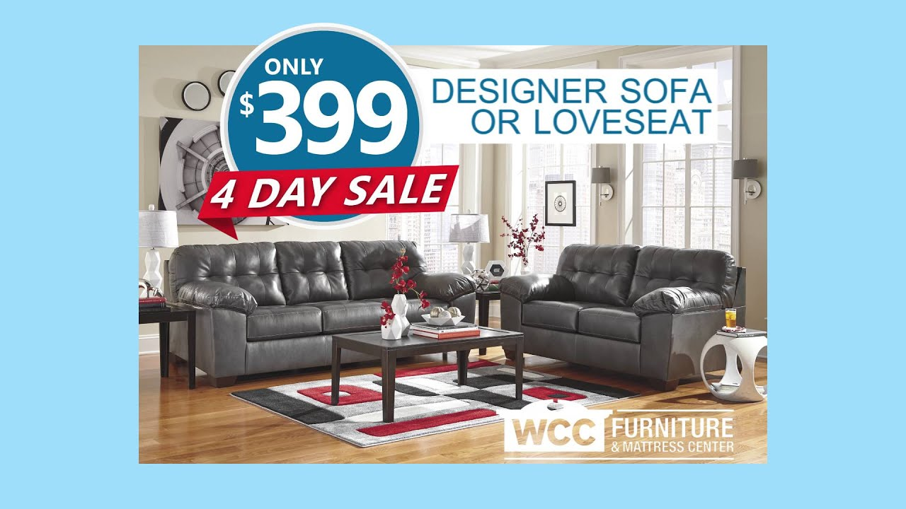 Wcc Furniture 4 Day Sale 2016 Youtube