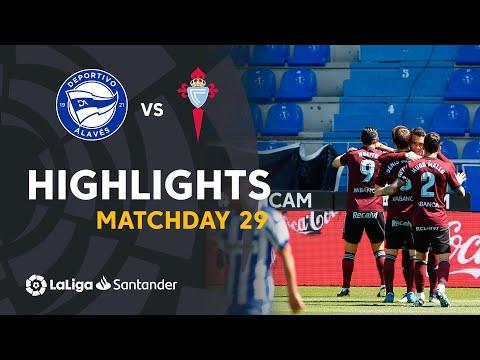 Alaves Celta Vigo Goals And Highlights
