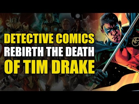 Detective Comics Rebirth Vol 1: Death of Tim Drake/Robin