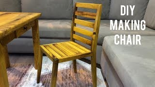 Making a wooden chair / Making a chair / How to make a wooden chair