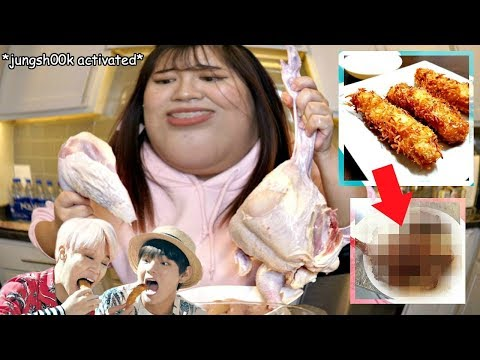 I Tried Cooking BTS FRIED CHICKEN And This Happened..