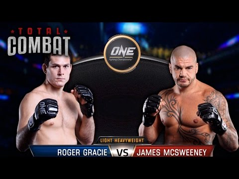 Total Combat | Roger Gracie vs James McSweeney