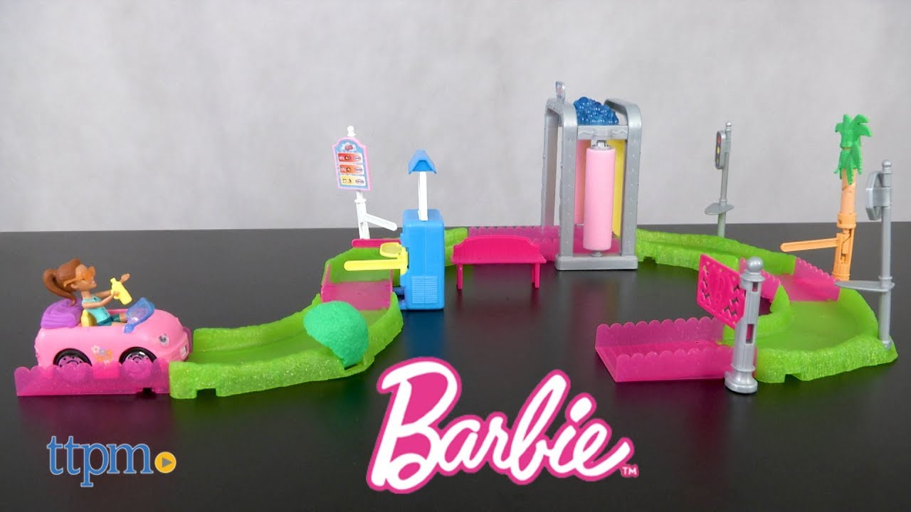 Barbie On The Go Pony Race Post Office From Mattel Ttpm Toy Reviews