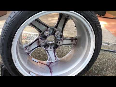 Really Thorough Wheel Cleaning