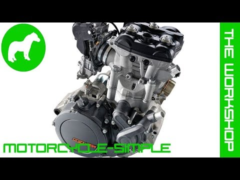 Motorcycle-simple - Single cylinder engines
