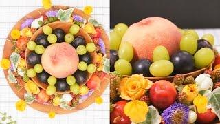 花と果実のテーブルコーディネート|C CHANNELライフスタイル テーブルコーディネート 検索動画 10