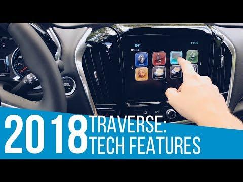 2018 Chevrolet Traverse: Tech Features