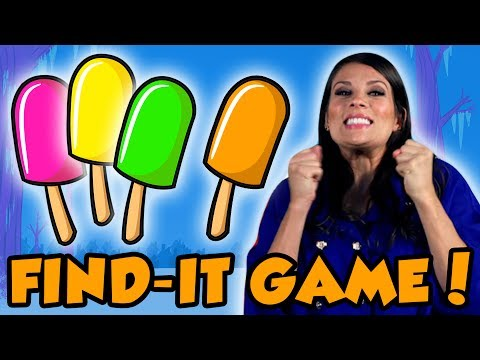Thumbnail: Can You Find the Popsicles? | Story Time with Ms. Booksy | Fun Kids Games at Cool School